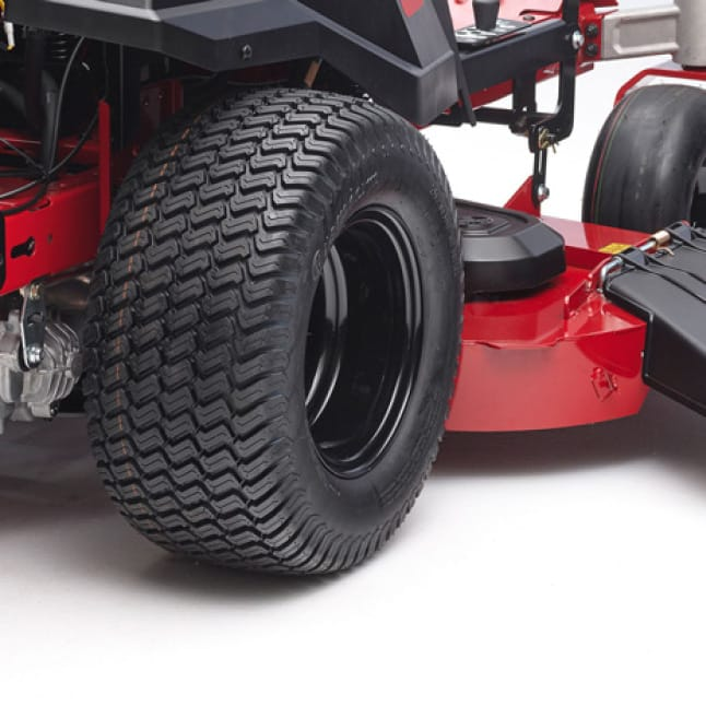 image of the wide tires