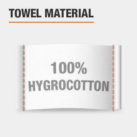 100% Hygrocotton Bath Towels