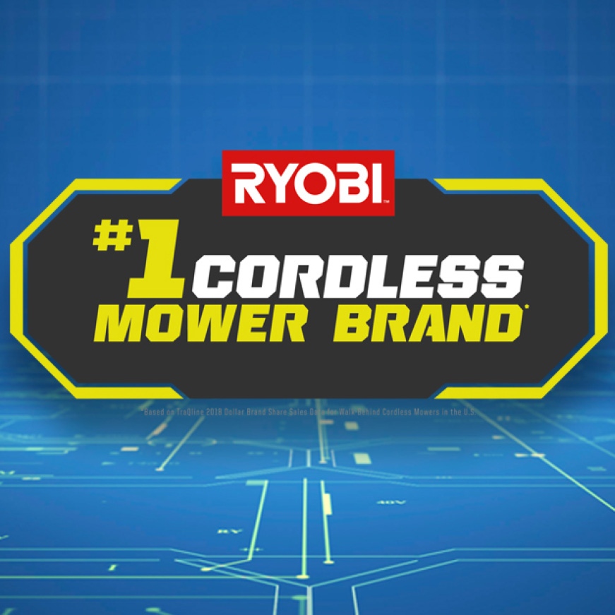 See why RYOBI is the #1 Cordless Mower Brand