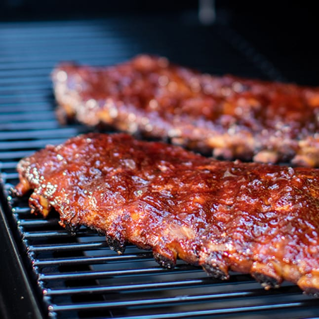 Traeger Grills - Consistency - Ribs on a Grill