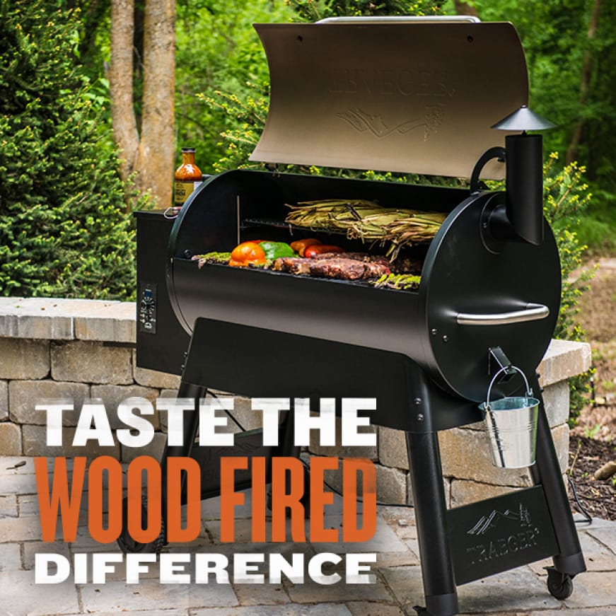 Traeger Grills - Taste The Wood Fired Difference - Pro Series 34