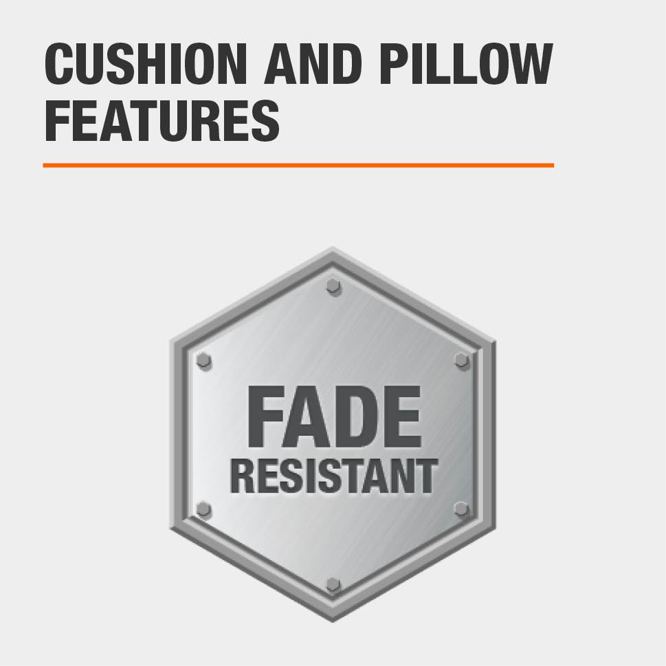Cushion and Pillow Features Fade resistant