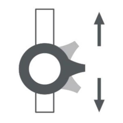 Spectra Versa Retrofit Shower System with Easy Glide