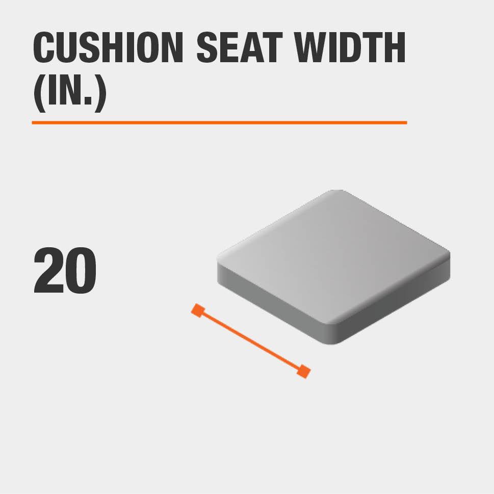 Cushion Seat Width (in.) 20