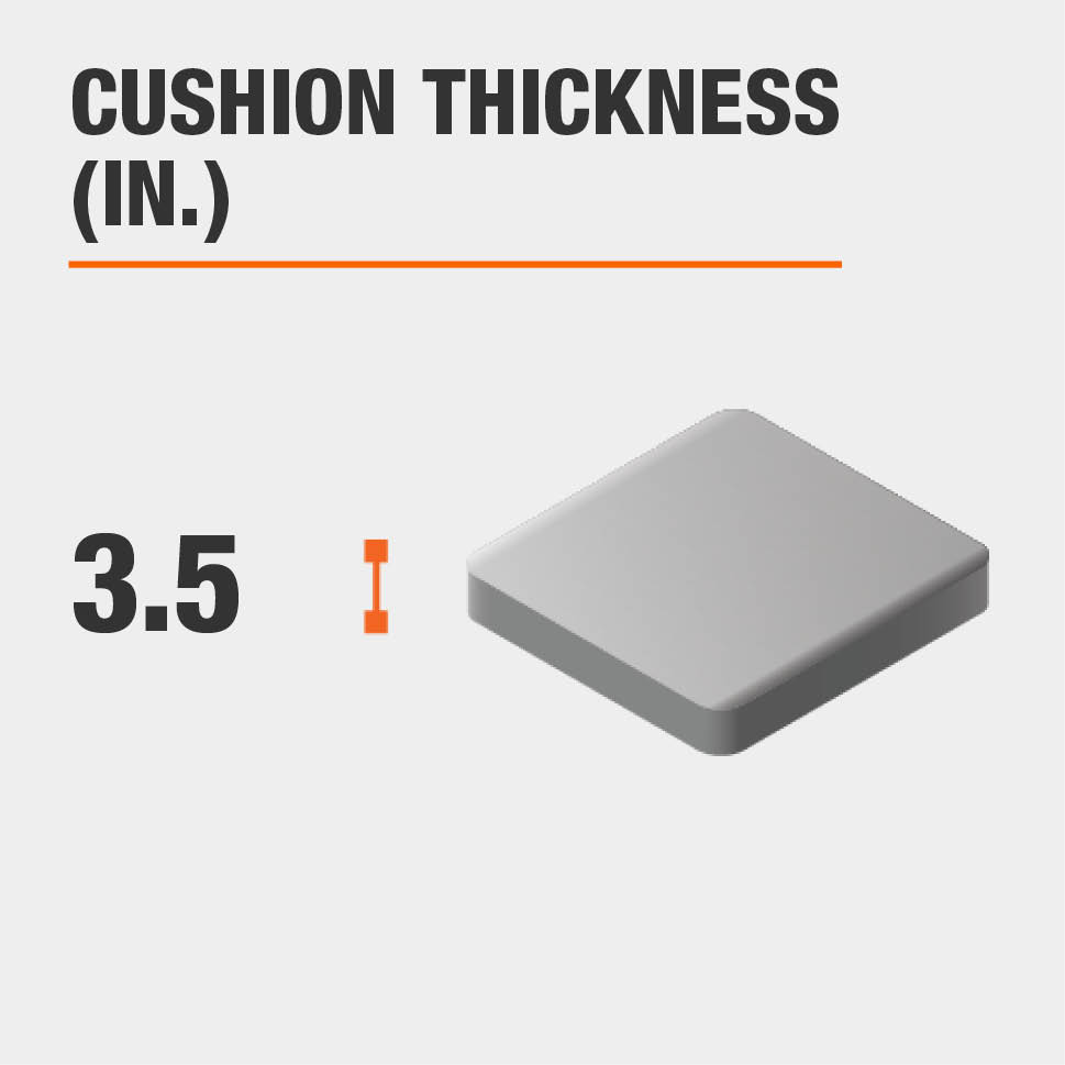 Cushion Thickness (in.) 3.5