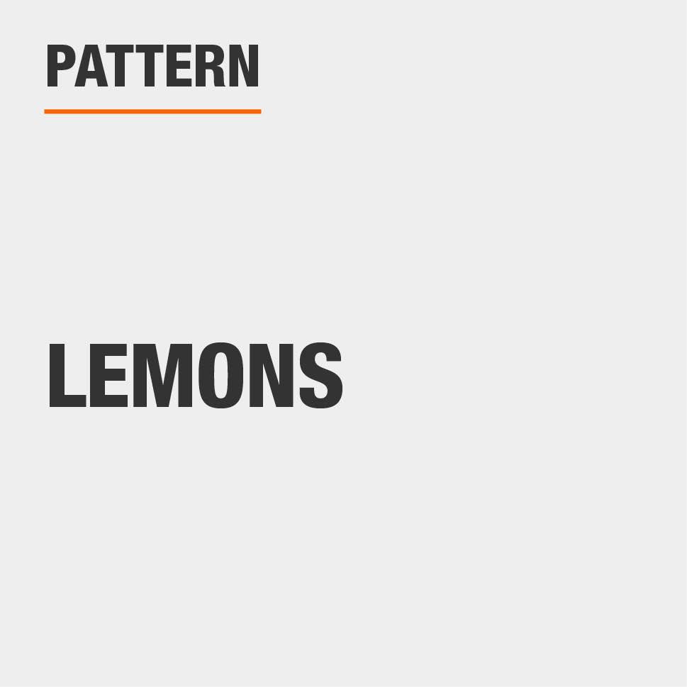 Pattern Lemons
