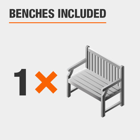 Benches Included
