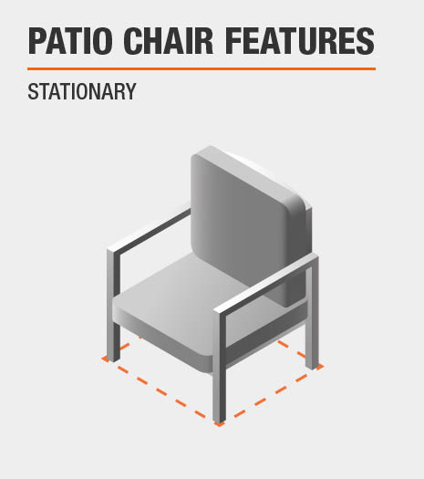 Patio Chair Features