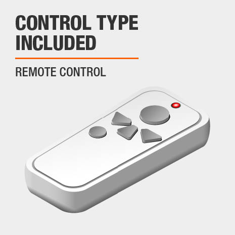 Remote Control Included