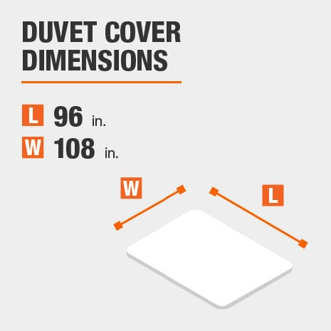 Duvet cover dimensions