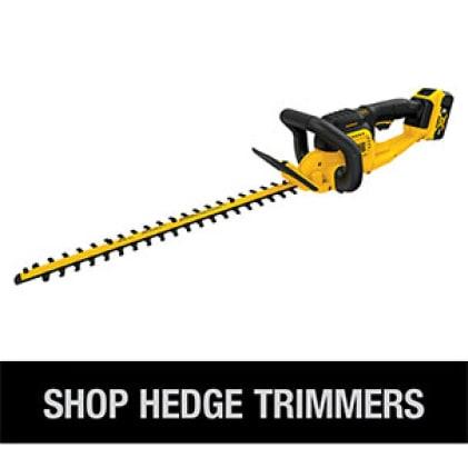 Shop the full line of DEWALT Cordless Hedge Trimmers