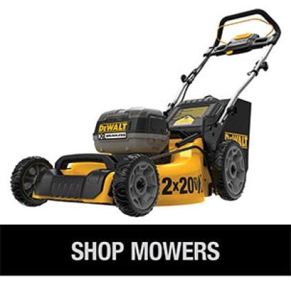 Shop the full line of DEWALT Cordless Mowers