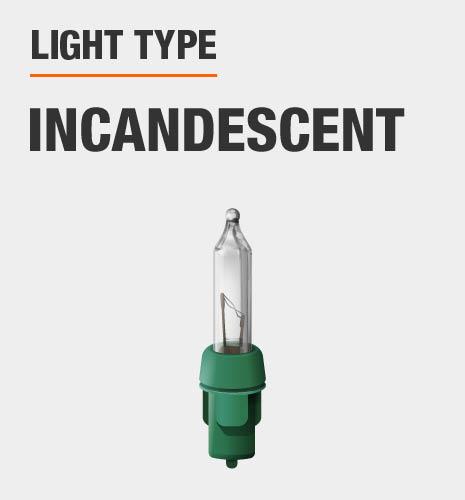 Light type is incandescent