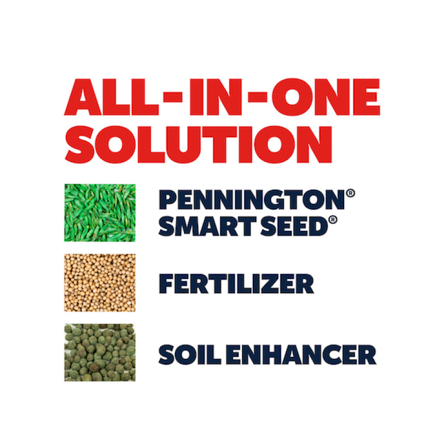 Pennington Sun and Shade Lawn Booster is an all-in-one solution