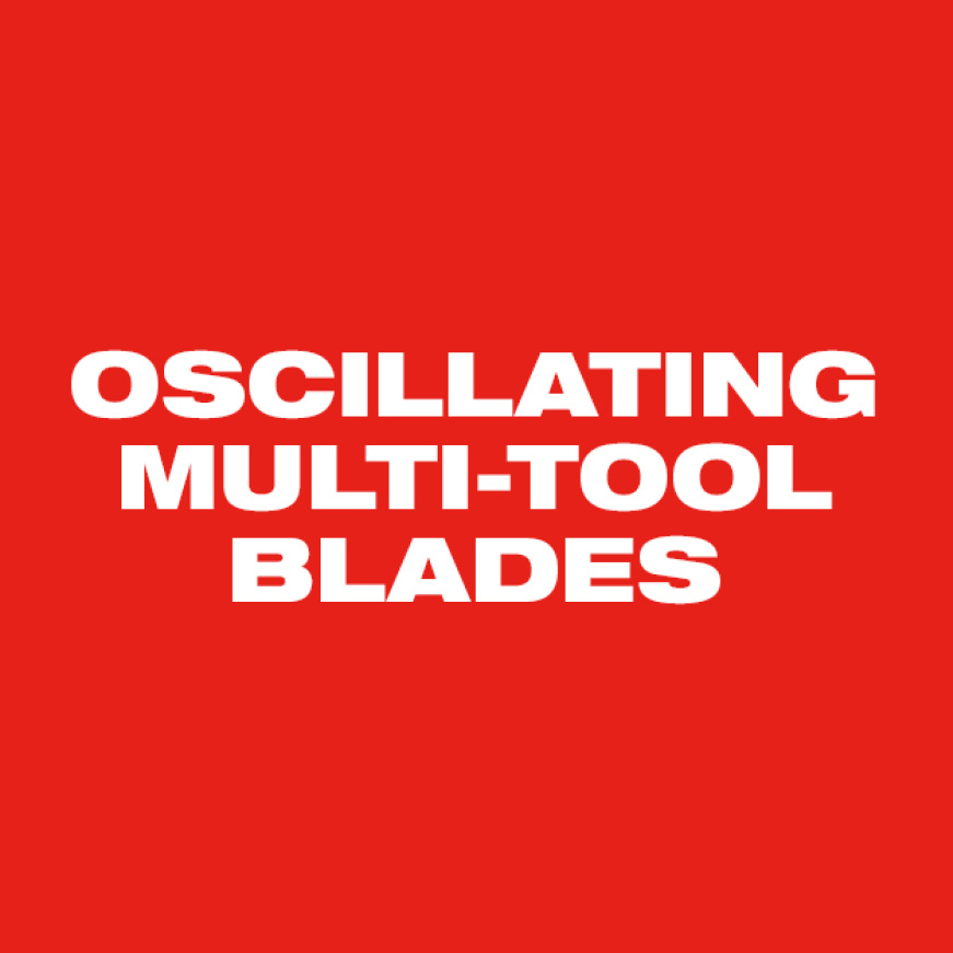 Milwaukee Oscillating Multi-Tool Blades