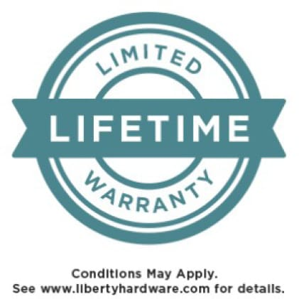 Icon showing Limited lifetime warranty