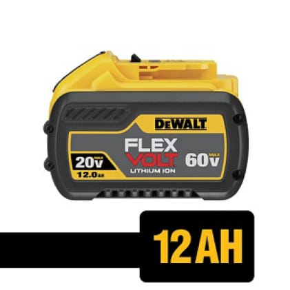 Same size as our 9.0Ah and expands the 20 VOLT/60 VOLT MAX.
