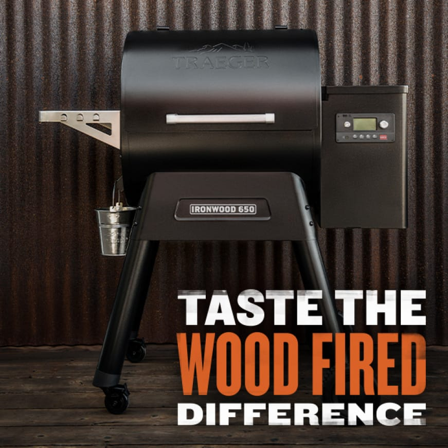 Traeger Grills - Taste The Wood Fired Difference - Ironwood 650