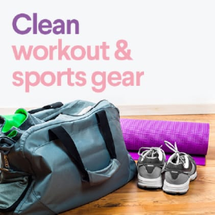 Eliminate odors and bacteria fromsportswear.