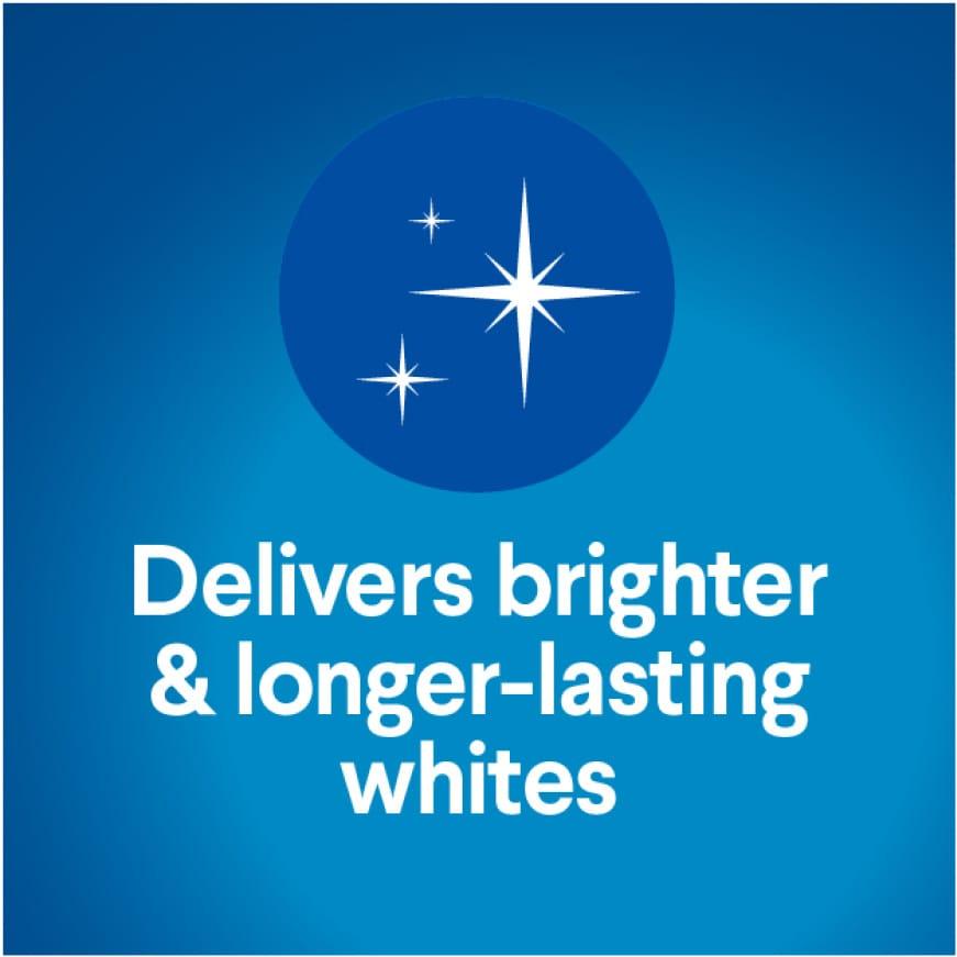 Longer-lasting whites