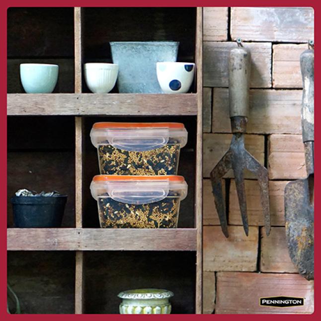 Pennington Premium Black Oil Sunflower Seed Seed Storage