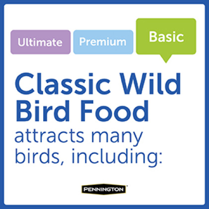 Pennington Classic Wild Bird Food Bird Types