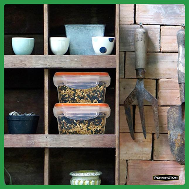 Pennington Premium Safflower Seed Seed Storage