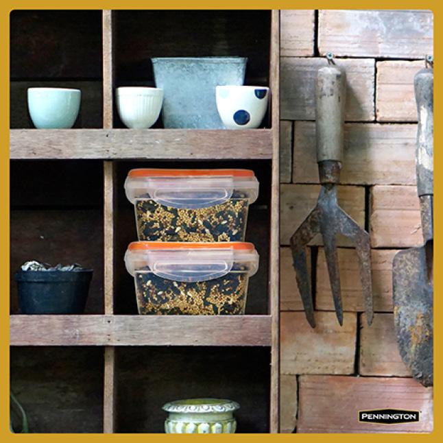 Pennington Premium Thistle Seed for Birds Seed Storage