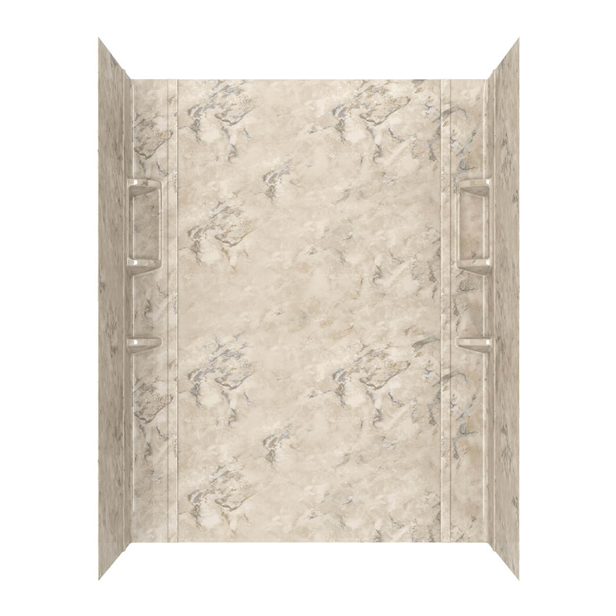 American Standard Ovation Bath Walls in Celestial Marble
