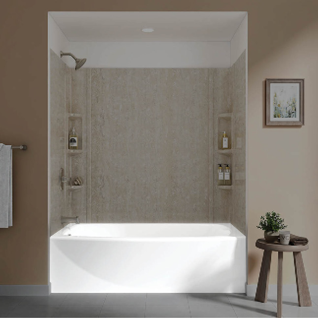 American Standard Ovation Curved Bathtub