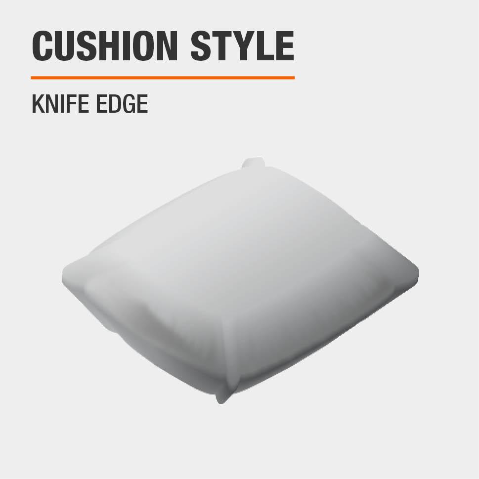 Cushion Style  Knife Edge