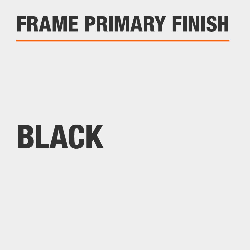 Frame Primary Finish Black