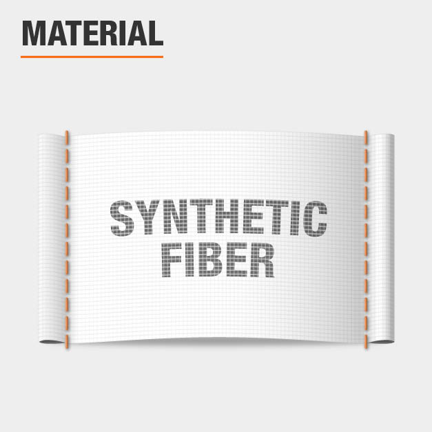 Area Rug material is synthetic fiber
