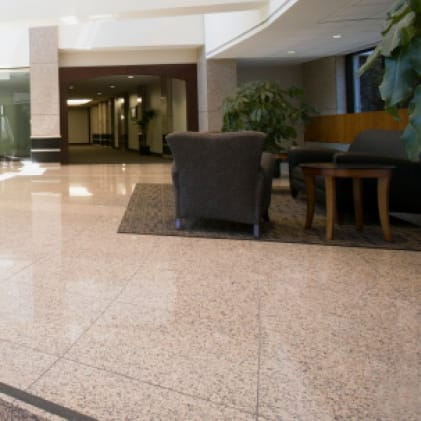 Ideal on hard, nonporous floors in public or high-touch places.