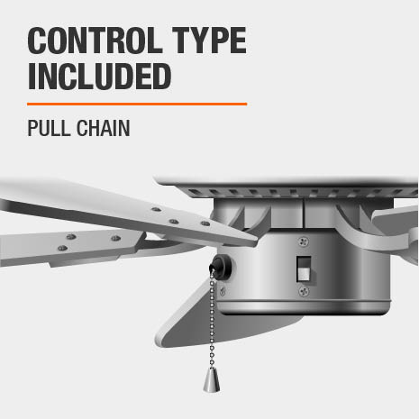 Pull Chain Ceiling Fan