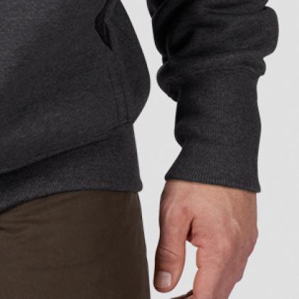 Rib-Knit cuffs & waist