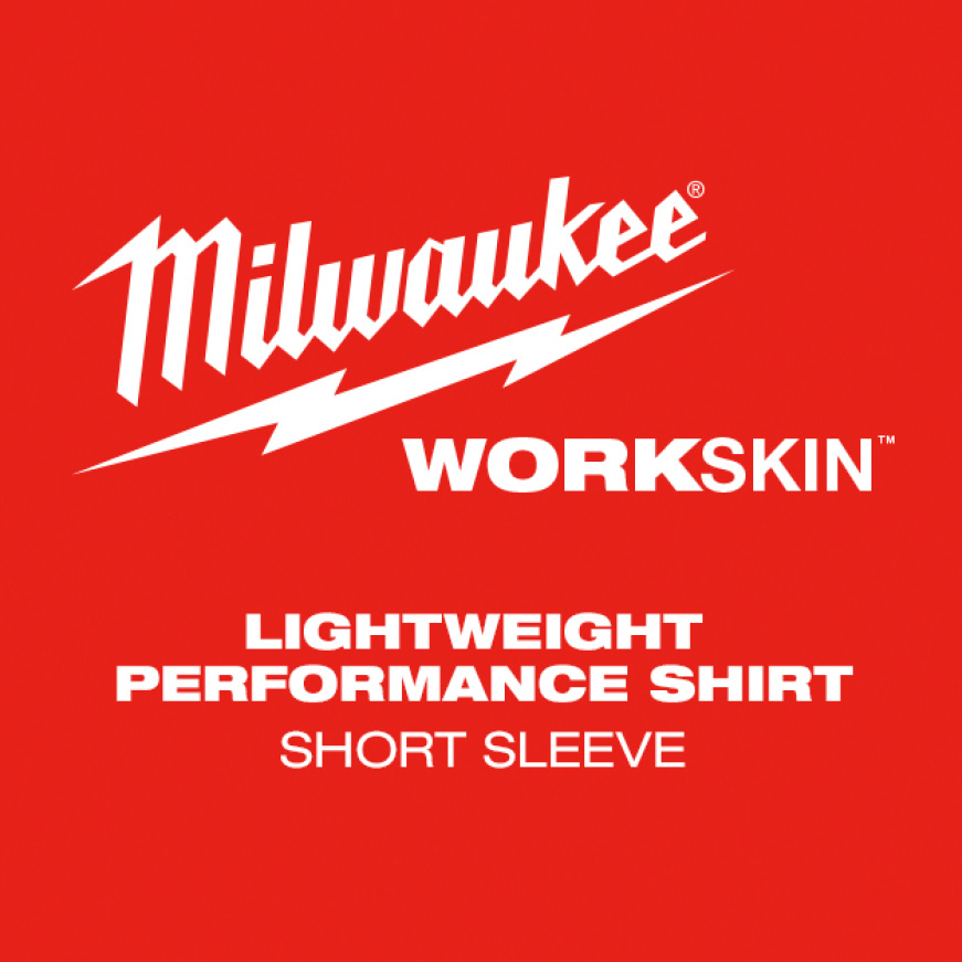 The WORKSKIN™ Lightweight Performance Short Sleeve Shirt is designed for tradesmen who need their next-to-skin layer to dry fast.