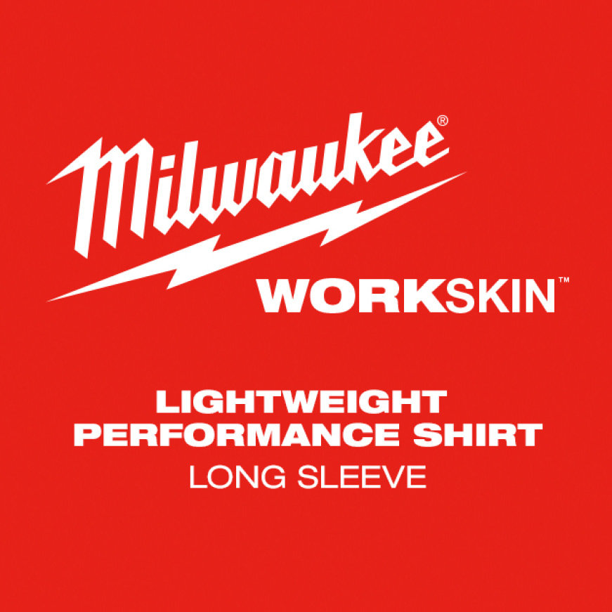Our WORKSKIN™ Lightweight Performance Long Sleeve Shirt is designed for tradesmen who need their next-to-skin layer to dry fast,.