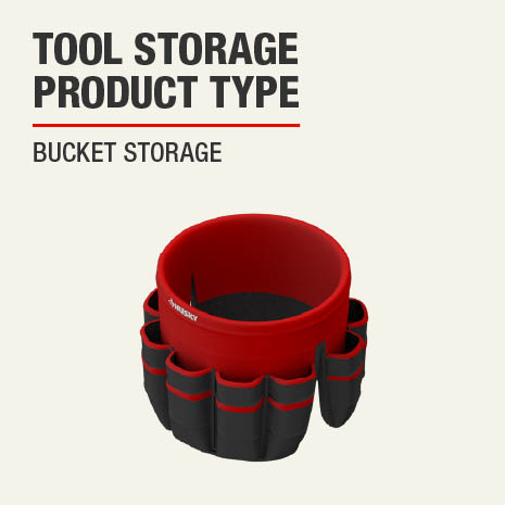 This tool storage product is a Bucket Storage