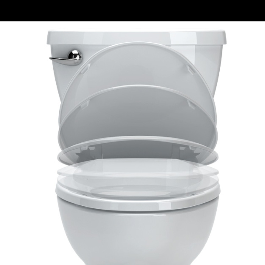 Champion Round Front Toilet with Slow-Close Seat