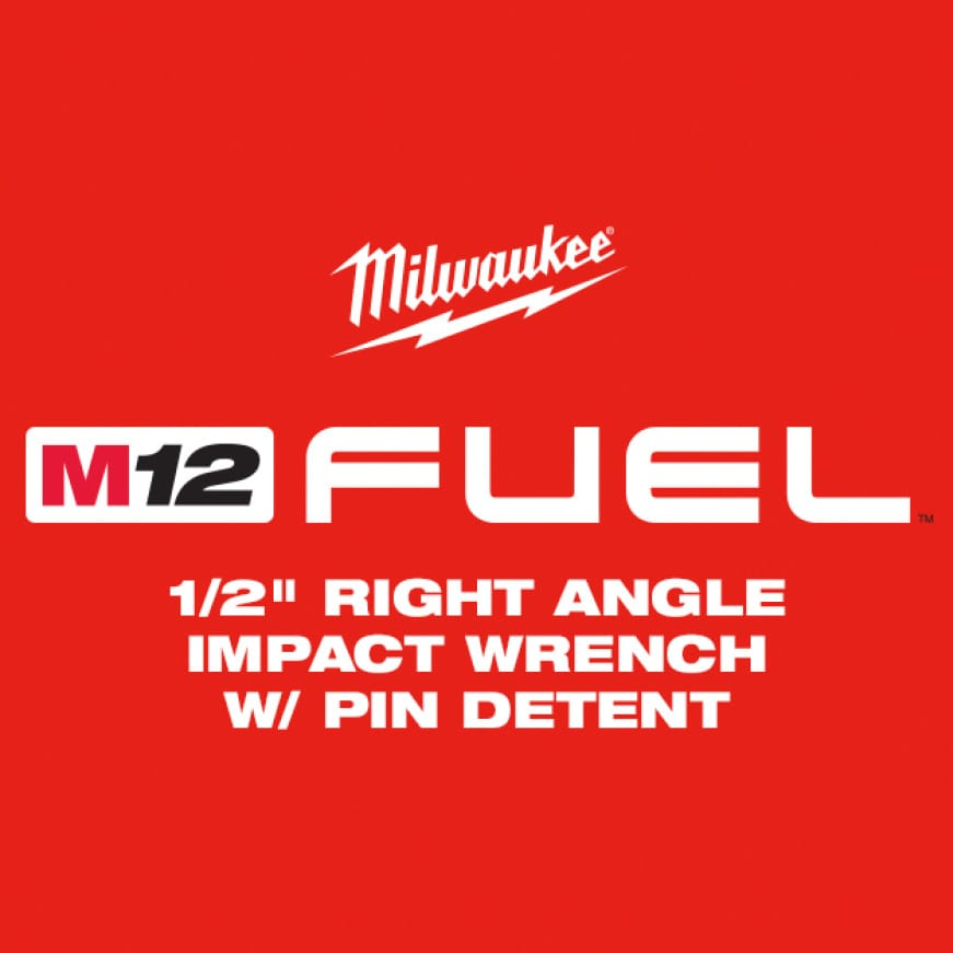 """The M12 FUEL 1/2"""" Right Angle Impact Wrench is the industry's most powerful right angle impact wrench"""