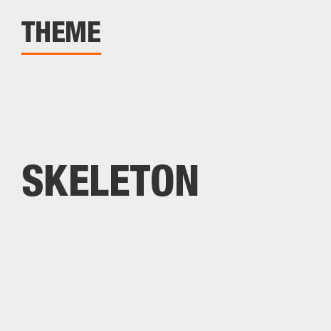 Item Theme is Skeleton