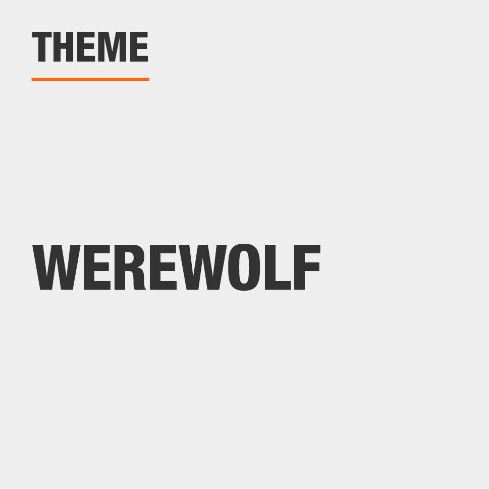 Item Theme is Werewolf