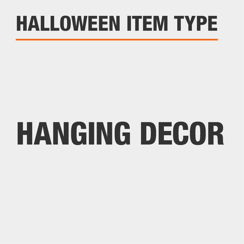 This item is hanging décor