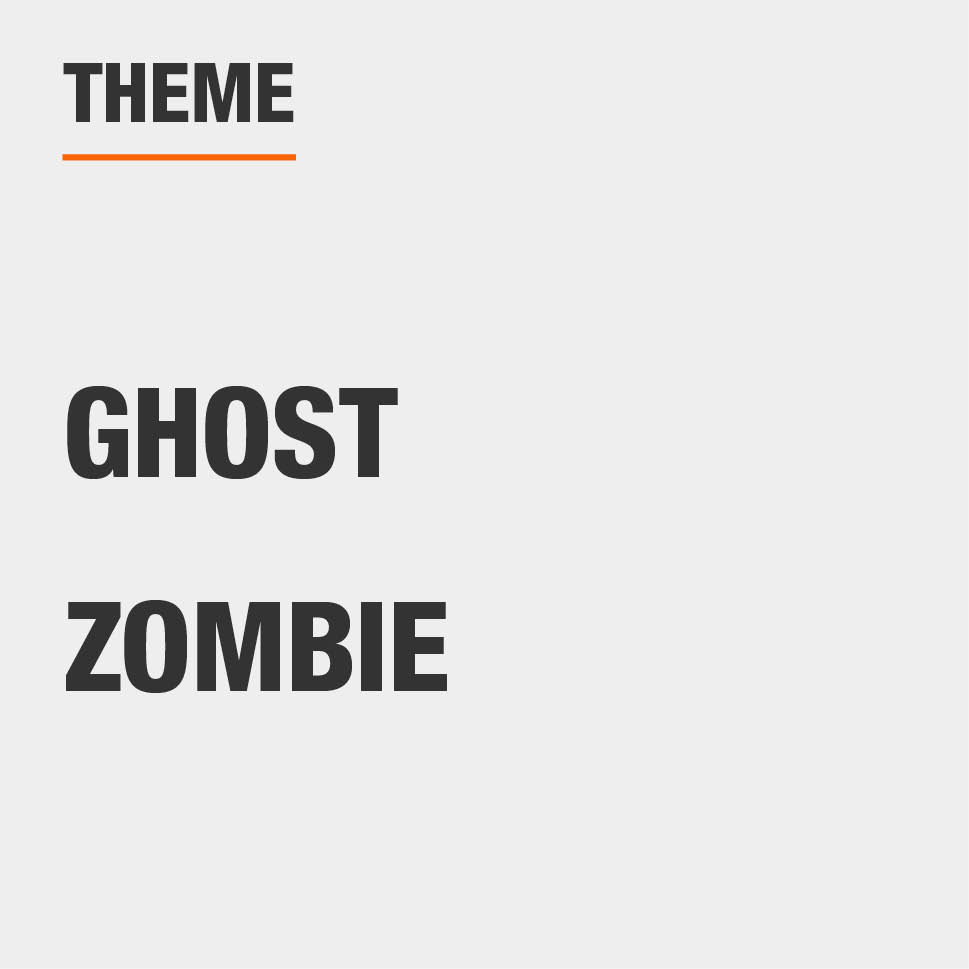 Item Theme is Ghost