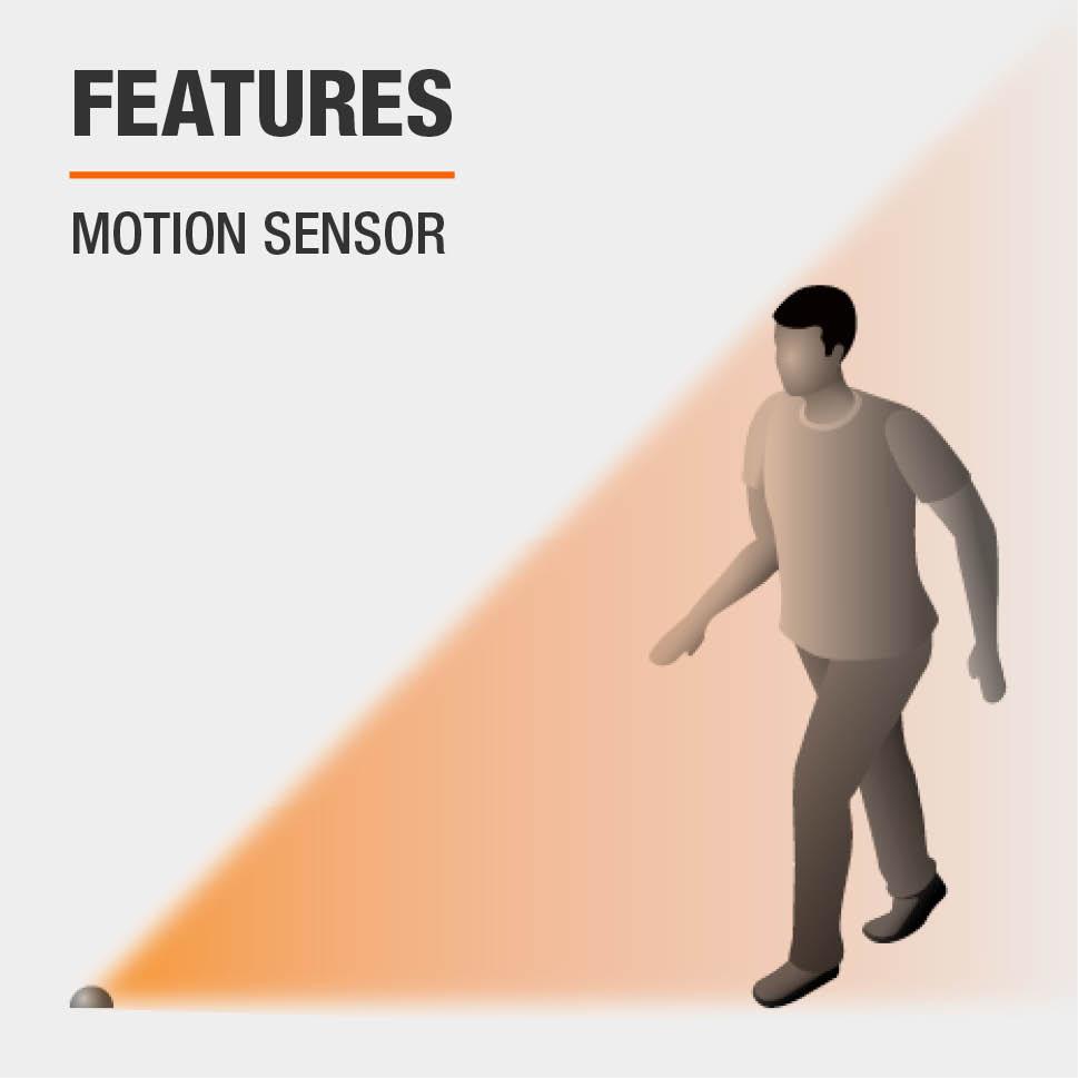 This item has motion sensors