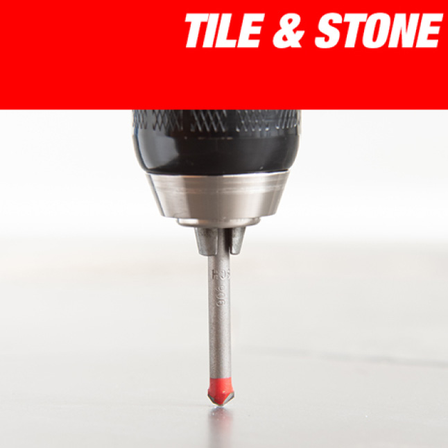 This is an image of Diablo's natural stone and tile performance drill bit.