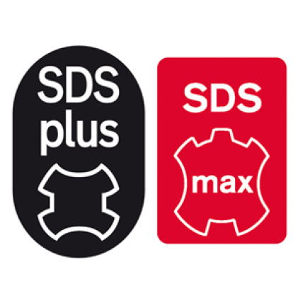 This is an image of SDS plus and SDS max.