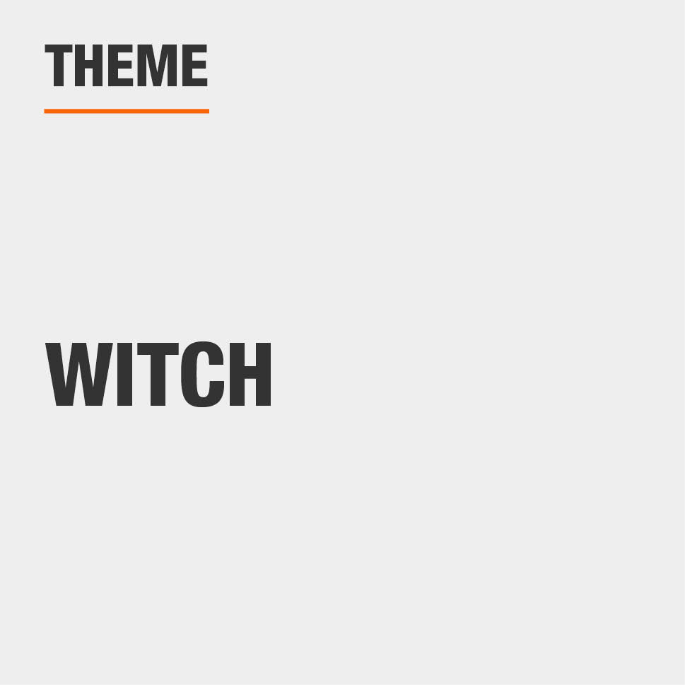 Item Theme is Witch
