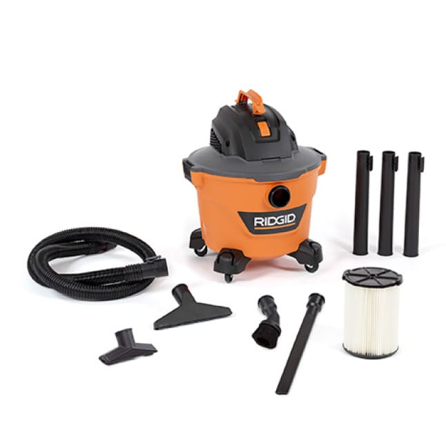 Includes 1-7/8 in. x 7 ft. Hose, 3 Extension Wands, Utility Nozzle, Wet Nozzle, Standard Filter, Crevice Tool, Dusting Brush